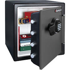 Safe Safety Deposit Box Electronic Fire Resistant Home Security Solid Steel Bank