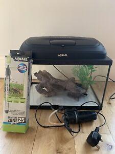 Aquael fish tank 25 Litres