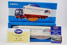 Corgi 98306 VOLVO Globetrotter Truck & DODD'S TRANSPORT Trailer Limited Edition