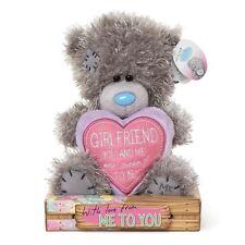 Me to You 7 Inch Padded Heart Girlfriend Plush Tatty Teddy Bear