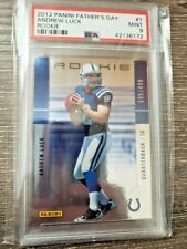 2013 ANDREW LUCK Panini Fathers Day Rc #104/499 PSA 9