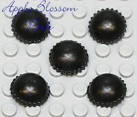 NEW Lego Minifig Lot/5 BLACK KNIT CAP - Thief Beanie Minifigure Hat Head Gear