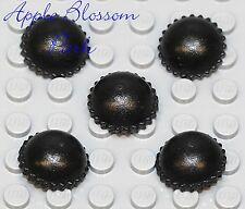 New Lego Minifig Lot/5 Black Knit Cap - Thi 00004000 ef Beanie Minifigure Hat Head Gear