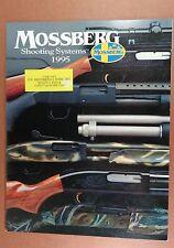 1995 MOSSBERG SPORTING FIREARMS CATALOG SHOTGUN SLUG MIL-SPEC