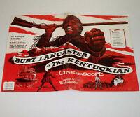THE KENTUCKIAN 1955 Movie PRESSBOOK Film BURT LANCASTER
