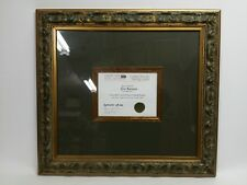 Custom Larson-Juhl Ornate Antique Gold Picture Frame, 30.5 x 28, 3.5 x 2 Molding