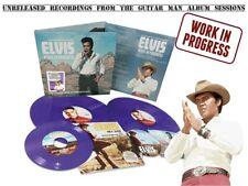 Elvis Collectors WORK IN PROGRESS: THE COMPANION ALBUM 2LP - CD - 45RPM Purple