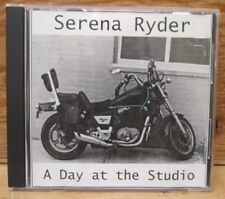SERENA RYDER A DAY IN THE STUDIO RARE PROMO ONLY CDR 2002 ROGUE STUDIOS TORONTO