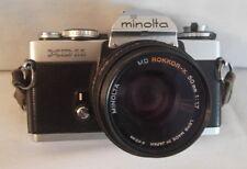 Minolta XD-11 35mm SLR Film Camera Rokkor - X 50mm 1:1.7 Lens, Made in Japan