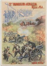 ITALY FASCISM PROPAGANDA  12th REGIMENT OF ARTILLERY SILA.