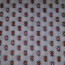 Damask Rose Vintage By the Yard Cotton Fabric Quilting/Sewing/Crafting/General