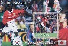 Guinee-Bissau  postfris MNH 2001 Voetbal-WM 2002
