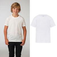 AWDis Just Sub Tee - Kids White Plain Polyester Printable Sublimation T-Shirt