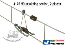 VIESSMANN 4175 H0 Fahrdrahtrenner 2 units per pack - NEW (c31)