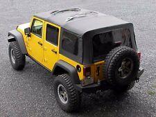 Front and Rear Top Prop for Jeep Wrangler JK 4 Door 07-18 JP-0108 Skid Row
