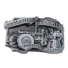 1f842d04a37 Men Bronze American Farmer Belt Buckle Western Fit Leather Jeans Belt Buckle