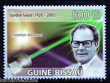 Guine Bi. MNH, Gordon Gould, USA Physicist, Invention of the laser   - In36
