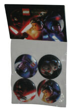 LEGO Star Wars The Force Awakens Button Set 4-Pack
