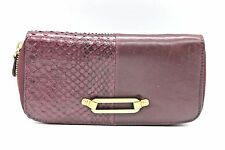 Jimmy Choo Python/Nappa Leather Wallet/Cluch