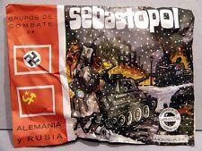 MONTAPLEX Sobre Grupos de Combate SEBASTOPOL Alemania Vs. Rusia 2ª GM airfix
