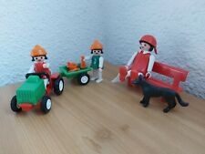 Playmobil - Ref.3594 - Children With Toy Tractor & Trailer & more