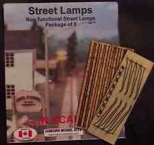 Osborn Models 3098 – Street Lamps – N Scale