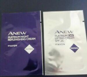 Avon Anew Platinum Night & Day Cream With Protinol Sample Sachets