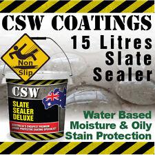 15L Slate Sealer - Moisture & Oily Stain Protection - Non Slip - Water Based