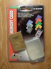 15 Blocks 1 Mega memory card playstation compatible