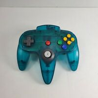 Nintendo 64 N64 Official Controller Ice Blue Funtastic-Authentic Tight Stick