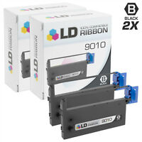 LD Compatible 9010 Set of 2 Black Printer Ribbon Cartridges for Brother M1009A