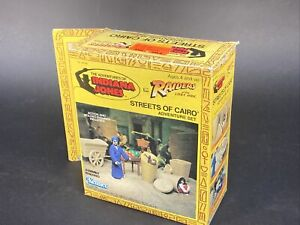 1982 INDIANA JONES RAIDERS LOST ARK STREETS OF CAIRO ADVENTURE SET MISSING ITEMS
