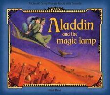 Aladdin and the magic lamp pop up sound Book, gift book, Christmas present
