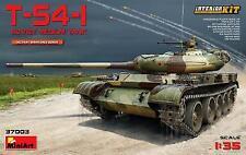 Miniart 1/35 T-54-1 soviéticos Medio Tanque Con Interior # 37003