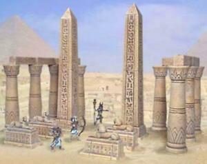 Wargame Scenery D&D Warhammer 25mm - Temple Entrance