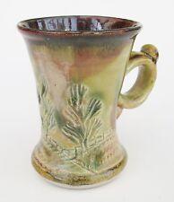 Stoneware Tea Coffee Mug - Woodland AR Handmade Craft Steve Woodhead Ceramics