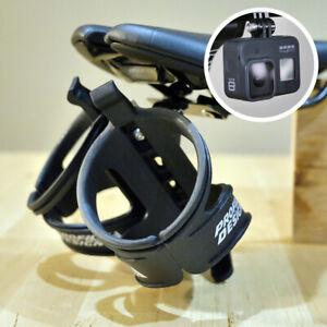 Profile Design Saddle Rear Mount Bottle Cage Holder Aero Triathlon Dual Double 2