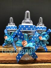 12 Bottles Baby Shower Favors Boy Decorations Recuerdos