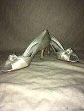 Stuart Weitzman Turalu Ivory Satin, Women's Shoes, Size 5M