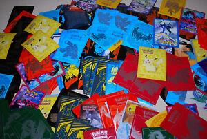 100 TCG Card Sleeves  - Pokemon Various Random Job Lot At Least 25 Different