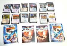 Babylon 5 Sci-Fi Premiere Card Game (1997), Narn + Earth Starter Decks, Ccg