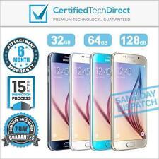 Samsung Galaxy S6 G920i 32GB 64GB 128GB Unlocked Refurbished 6 Month Warranty