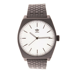 RRP €160 ADIDAS PROCESS M1 Stainless Steel Watch Japan Quartz Movement Analogue