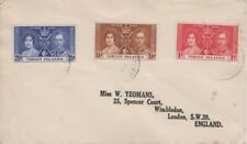 British Virgin Islands - 1937 King George VI Coronation Cover