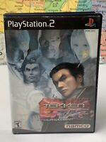 SHIPS SAME DAY Tekken Tag Tournament (Sony PlayStation 2) PS2 Black Label Tested
