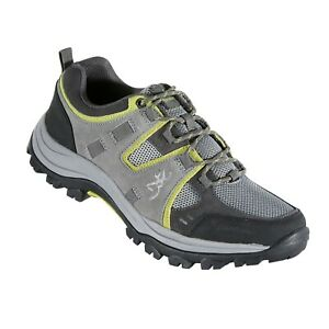 Browning Mens Buck Pursuit Trail Shoe Frost Gray/Citron