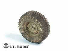 ET Model ER35026 1/35 M1151 Humvee Weighted Wheels (5 pcs)