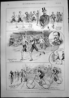 Old Annual Meeting Norfolk Norwich Norwich C C Brooks Cycle Race 1893 Victorian