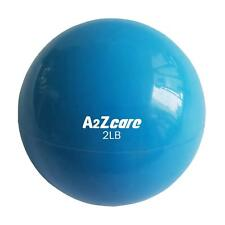 A2ZCare Toning Ball - Soft Weighted Mini Ball/medicine Blue 2lbs