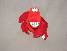 "Disney Store Sebastian Bean Bag Plush, The Little Mermaid 6"" Stuffed Animal Doll"